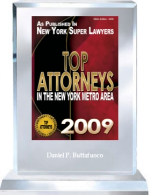 Top New York Injury Lawyer Award